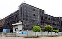 東莞橫瀝廠房火災後結構加固修複工程